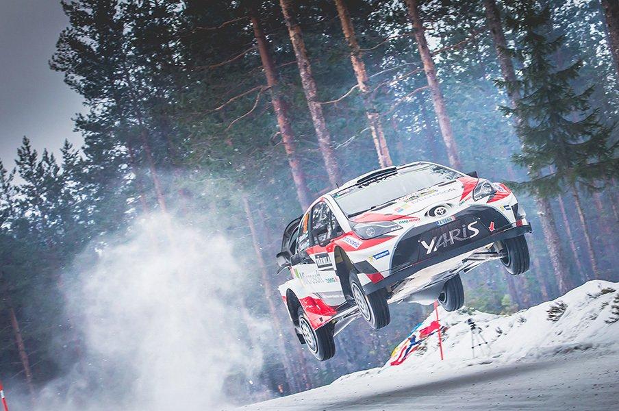 公道レースの最高峰、WRCが世界で最もタフで過酷なレースと言われる理由。<Number Web> photograph by TOYOTA