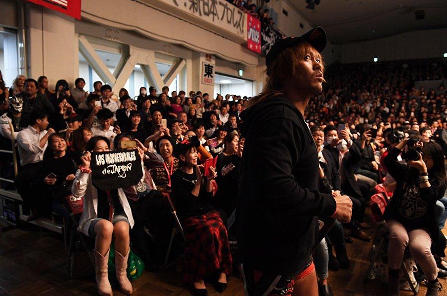 内藤哲也が新日本プロレスを痛烈批判。2年連続大賞男が挑む1.4東京ドーム。<Number Web> photograph by Essei Hara
