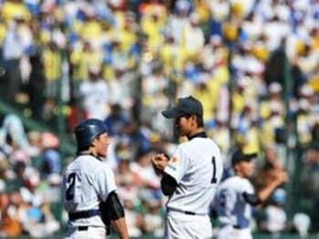 あまりにも極端な配球! 日本文理が仕掛けていた大胆な策。<Number Web> photograph by Hideki Sugiyama