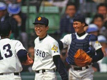 """清原和博と渡辺智男。果たせなかった""""約束""""。<Number Web> photograph by Katsuro Okazawa"""