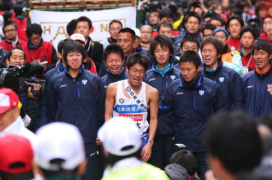 [平成25年第89回大会優勝] 日本体育大学 「胸に刻まれた1年前の屈辱」<Number Web> photograph by AFLO