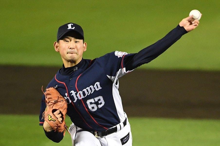 西武の次世代投手陣が……見えた!佐藤勇、多和田真三郎のデビュー検証。<Number Web> photograph by NIKKAN SPORTS