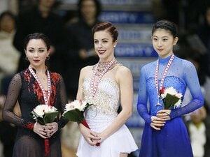スケートカナダ制したワグナーの貫禄。初挑戦3位・永井優香は会見も英語で。