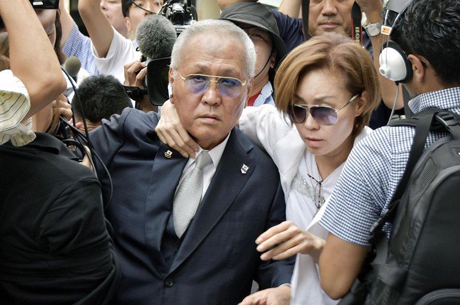 「アマボクシングに命懸けとる」山根明の書かれざる素顔。<Number Web> photograph by Kyodo News