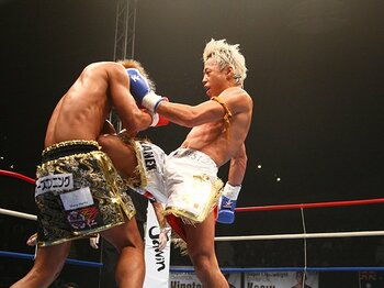 武尊は魔裟斗以来のK-1スターになる。2階級制覇で見せた強さ、カリスマ性。<Number Web> photograph by Takao Masaki