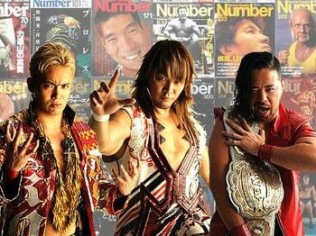 新日本プロレス総選挙、中間発表。前半戦を制したのはあの男だ!<Number Web> photograph by Sports Graphic Number