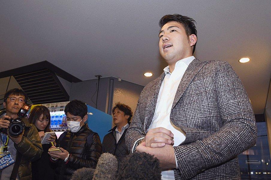 菊池雄星の渡米とS・ボラスの思惑。解体中のマリナーズが最有力候補。<Number Web> photograph by Kyodo News
