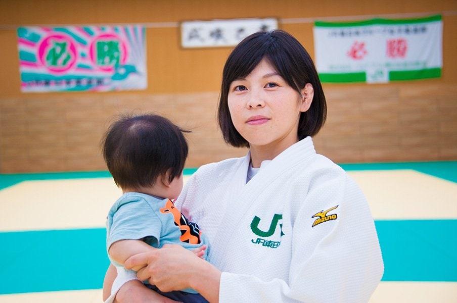 1児の母として日本柔道強化を。福見友子が捧ぐ「すべての情熱」。<Number Web> photograph by Shino Seki