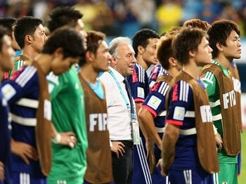 W杯前の闘莉王の言葉が頭をよぎる。本当の「日本のサッカー」とは何か?<Number Web> photograph by Getty Images