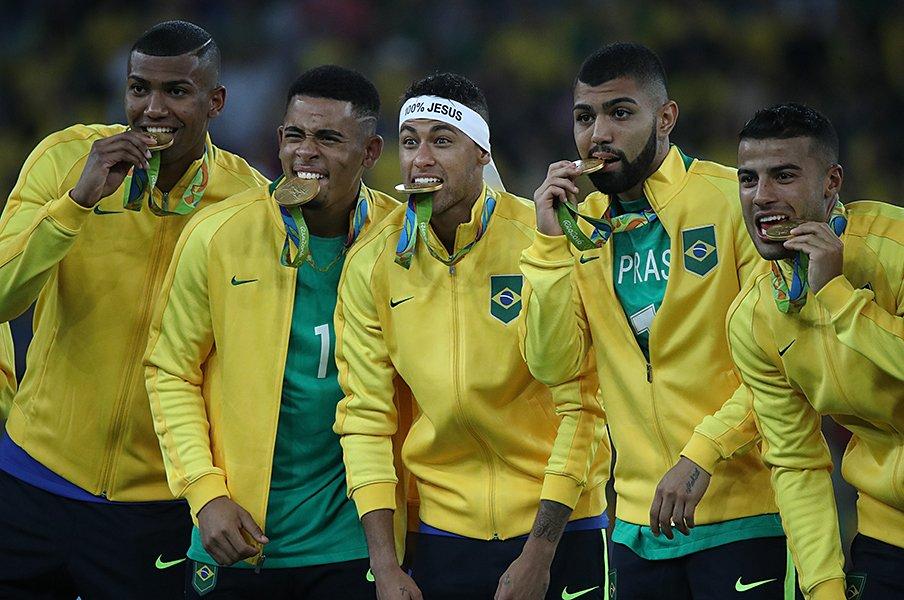 リオ金メダルのブラジルから学ぶ、五輪サッカーで結果より大事なこと。<Number Web> photograph by Shinya Mano/JMPA