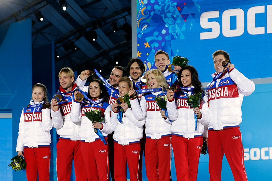 フィギュアにもドーピングはあるの!?五輪スキャンダルで揺れるロシア。<Number Web> photograph by AFLO