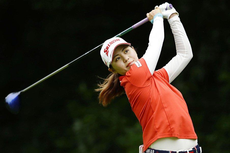 女子ゴルフ黄金世代。~勝みなみ、新垣比菜、小祝さくらの台頭~<Number Web> photograph by KYODO