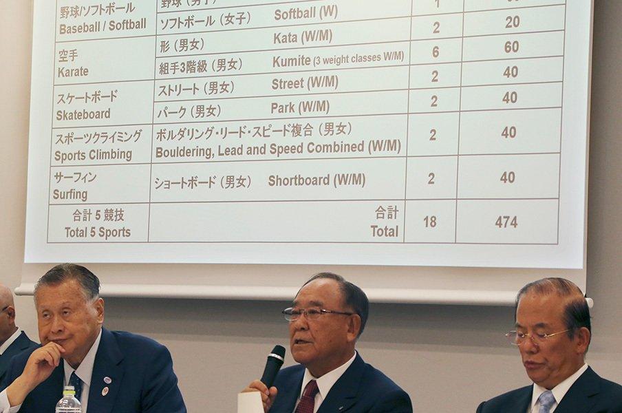 東京五輪の追加種目候補が決定!「若者を取り込む」ことはできるか。<Number Web> photograph by AFLO