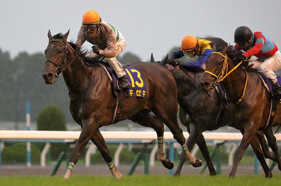 史上最悪レベルの極悪馬場状態。菊花賞でキセキが証明した純粋な力。<Number Web> photograph by Yuji Takahashi