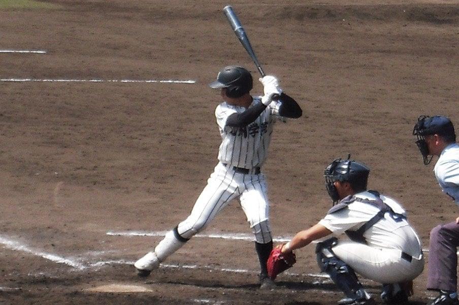 大阪桐蔭級の打線に熊本で出会う。九州学院で育つ3つの異なる才能。<Number Web> photograph by Masahiko Abe