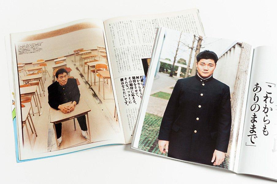 12年間通った母校で語った、清宮幸太郎のメジャーへの夢。<Number Web> photograph by Wataru Sato