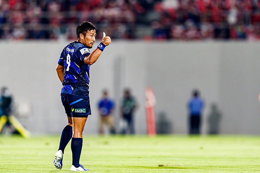 ラグビーW杯へ、激化するSH争い。田中史朗、流大、茂野海人の個性。<Number Web> photograph by Kiichi Matsumoto