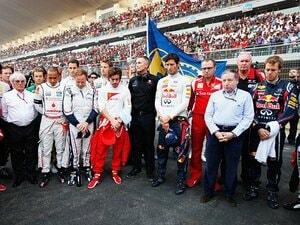 レースに散った仲間達に黙祷を――。インドGPで見たF1ドライバーの決意。