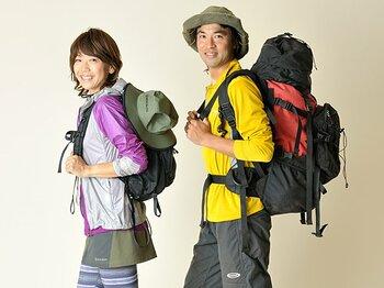 Qちゃんがサバイバル登山家と山...