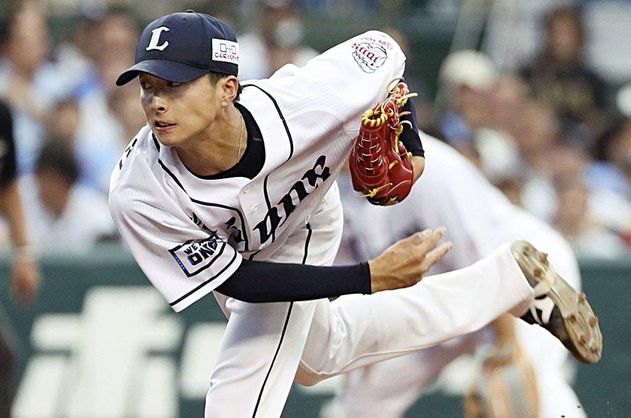 西武ドラ6森脇亮介は遅咲きの26歳。新人っぽくないリリーフの心得。<Number Web> photograph by Kyodo News