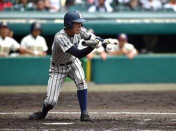 甲子園のバント、181回は減少傾向?勝率との関係から局面、最多校まで。<Number Web> photograph by Hideki Sugiyama