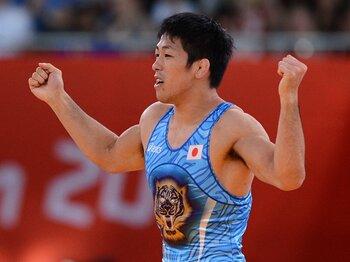 気迫と向上心の男・米満達弘。男子レスリング復活を告げる金メダル。<Number Web> photograph by Asami Enomoto/JMPA