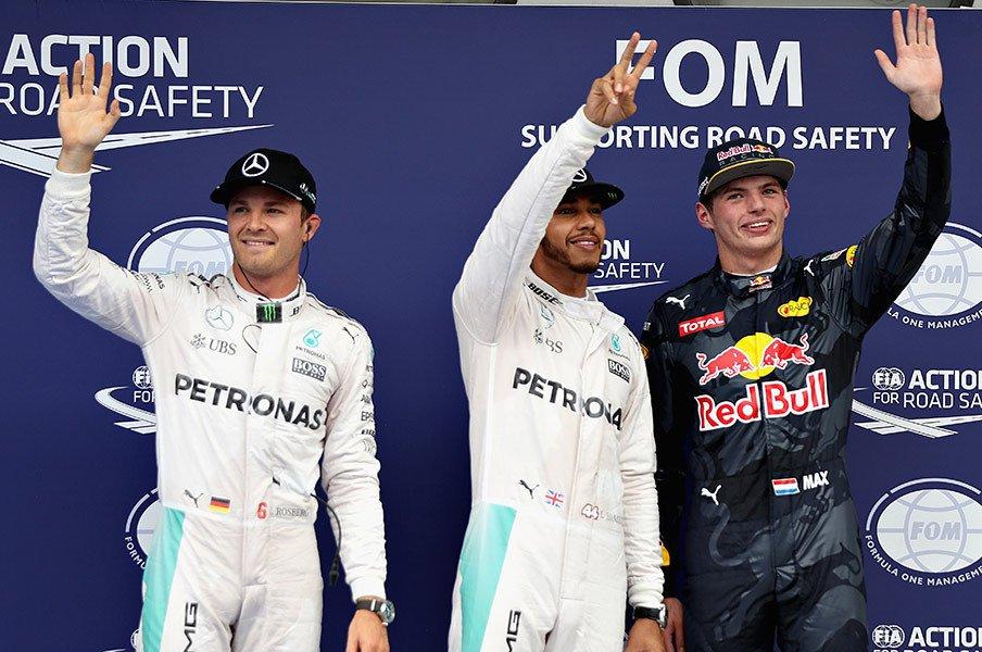 F1日本GPでの見どころ一挙紹介!メルセデス頂上対決とホンダの正念場。<Number Web> photograph by Getty Images