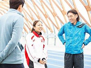 日本代表の高田千明と大森盛一コーチ。東京パラで叶えたいことを修造に語る。