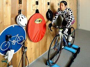 <お笑い芸人は、なぜ体を鍛えるのか?> 団長安田 「自転車好きにだけ通じるギャグができました!」