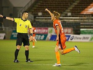 四国ダービー、0-3から逆転の立役者。愛媛FCのラッキーボーイ・西岡大志。