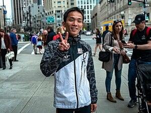 男子マラソン3強の1人、井上大仁。ボストンの教訓は「コース研究」。