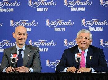 コミッショナー交代で、注目される後継者の手腕。~NBAトップに吹く新たな風~<Number Web> photograph by Getty Images