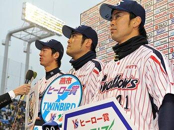 「二刀流」ではなく野手一本で――。雄平は不振のヤクルトを救えるか?<Number Web> photograph by Nanae Suzuki