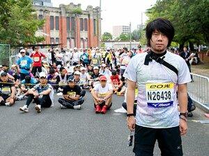 """<マラソン> 10.30""""大阪マラソン""""をランニング初心者が走ってみた。(前編)"""