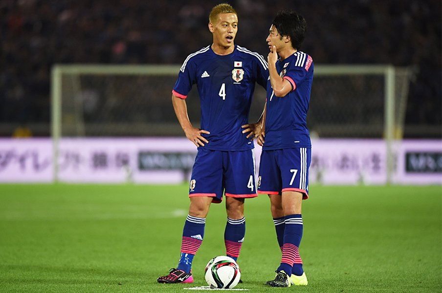 "W杯前に""直接FKが脅威""と刷り込め。本田・柴崎が今回のキーマンな理由。<Number Web> photograph by Getty Images"