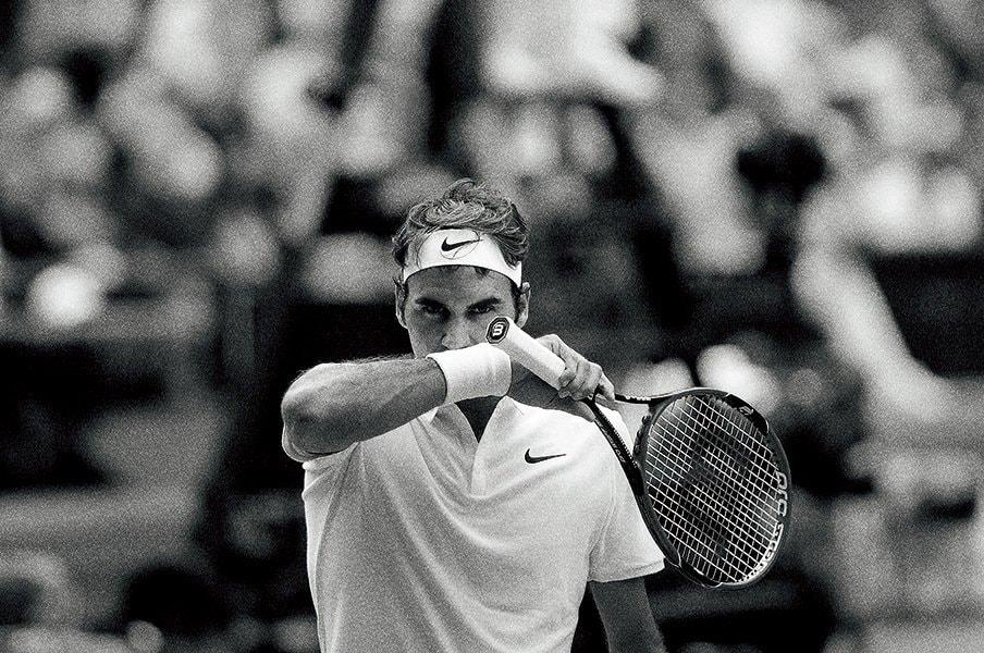 ロジャー・フェデラー、復活を語る。「自分がこんなにテニスが好きだとは」<Number Web> photograph by Hiromasa Mano