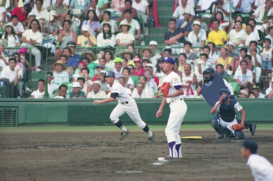 1991年夏の佐賀学園vs.天理を忘れない。若林隆信青年が見せてくれた意地。<Number Web> photograph by Kyodo News