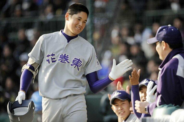 大谷翔平/花巻東 / photograph by Kyodo News