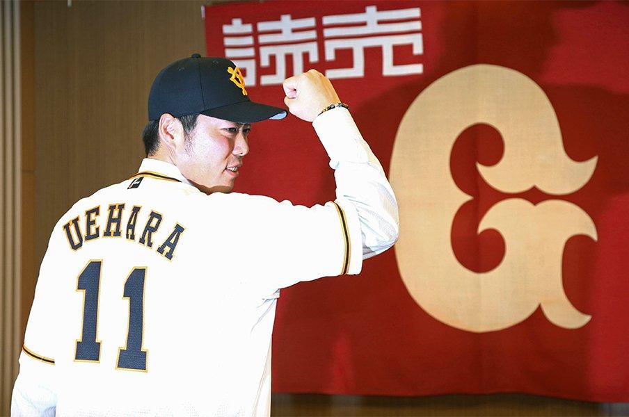 上原浩治復帰は菅野智之にも好影響!黒田とマエケンのような関係性に。<Number Web> photograph by Kyodo News