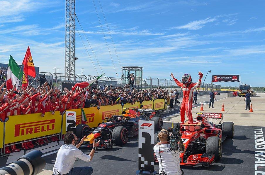 39歳ライコネン、F1勝利の大偉業。激動を生き抜いたクールな適応力。<Number Web> photograph by Getty Images