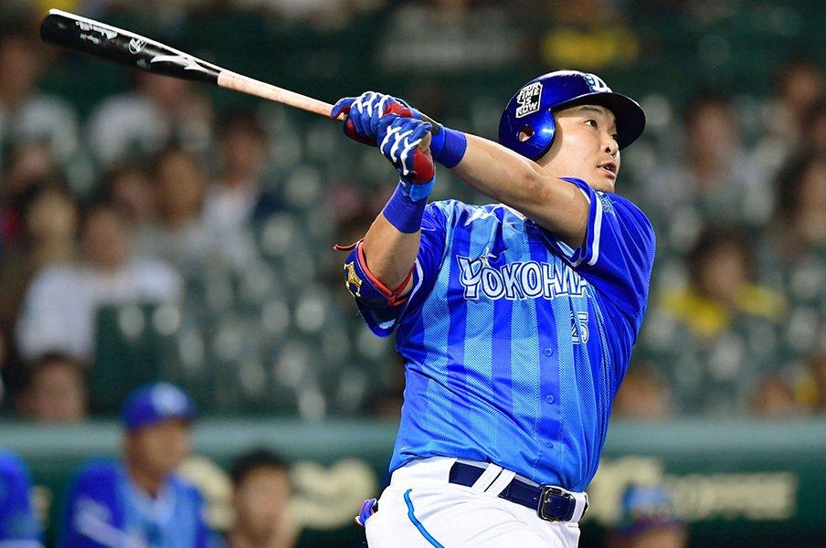 筒香嘉智の打点と本塁打を調べる。「自分で決める」意識こそが大敵?<Number Web> photograph by Kyodo News