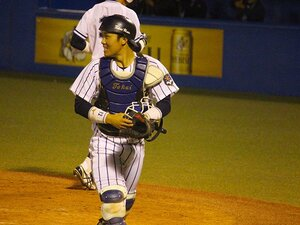 SBドラフト2位東海大・海野隆司にスカウトが重ね合わせた名捕手の姿。