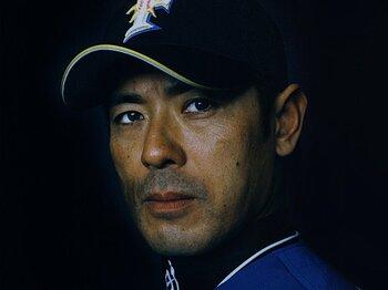 <日本ハム・リーダーが語る激闘の歴史> 稲葉篤紀 「やっと10年。まだまだこれから」<Number Web> photograph by Takanori Ishii
