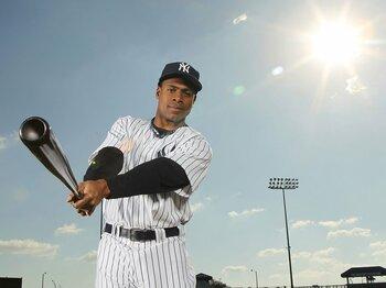 松井秀喜不在のヤンキースのその後。新たな救世主の名はグランダーソン。<Number Web> photograph by Getty Images