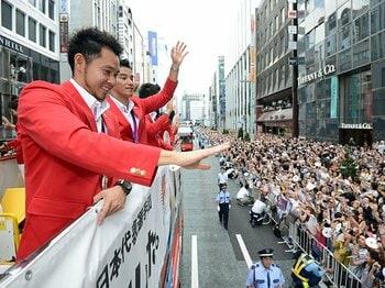 メダリストでも競技を続けられない?今こそ考えたい、スポーツ支援の形。<Number Web> photograph by Kyodo News