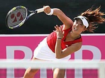 WTAランキングは伊達に次ぐ日本人2位の91位。今年こそグランドスラム初勝利なるか