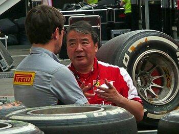 フェラーリの侍エンジニア、浜島裕英。16年前のスペインGPでの忘れえぬ涙。<Number Web> photograph by Masahiro Owari