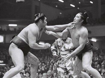 拝啓 放駒元理事長 この相撲ブームを見たらきっと――。<Number Web> photograph by Masahiko Ishii
