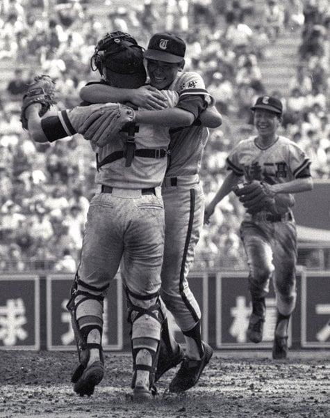 1984年8月21日 第66回全国高校野球選手権大会決勝 取手二vs.PL学園