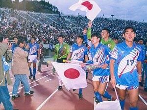 サッカー界とテレビ業界まで変えた。実況席で見た'92年アジア杯初制覇。